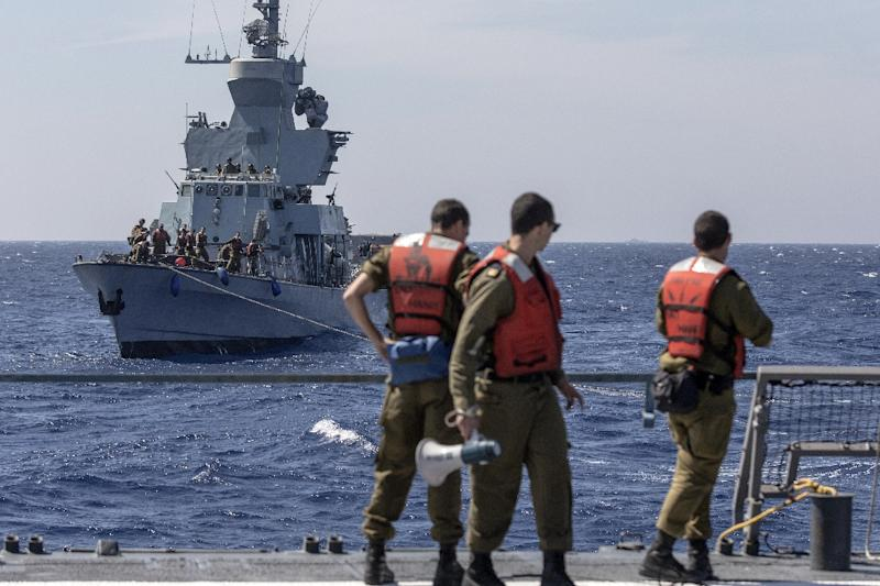 Israel intercepts ship trying to break Gaza blockade