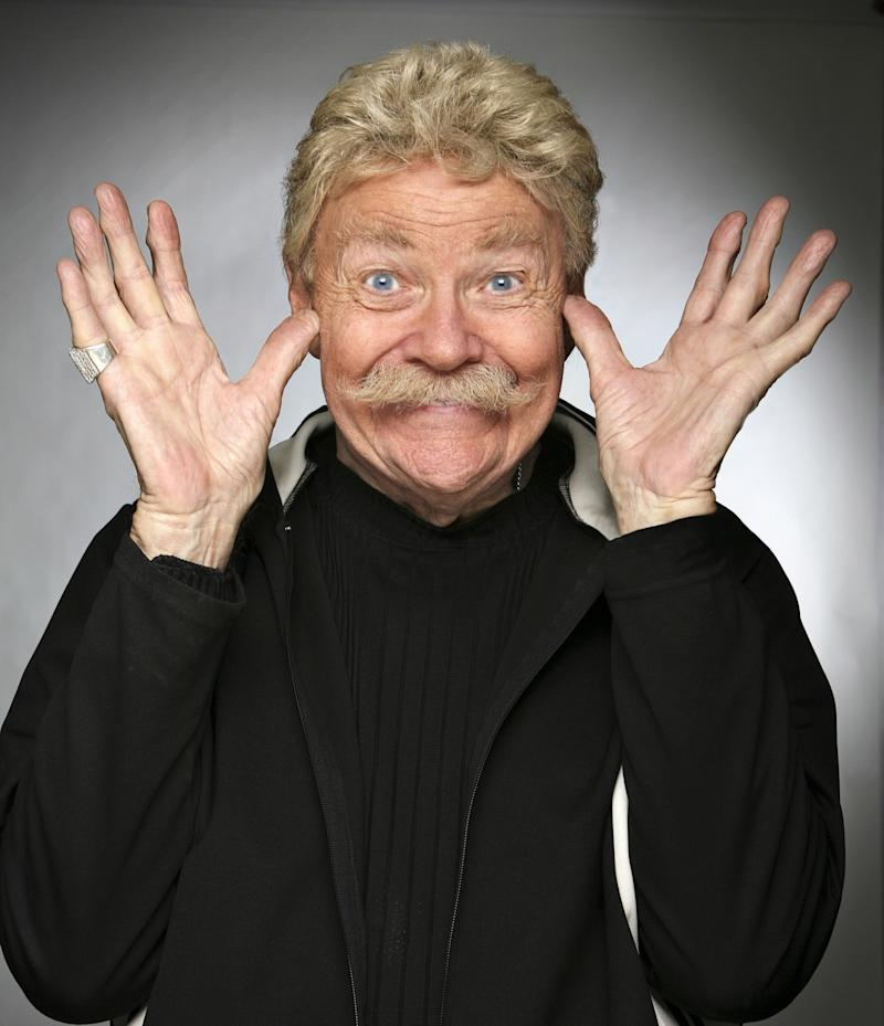 Comedian Rip Taylor, the 'King of Camp and Confetti,' has died at 84