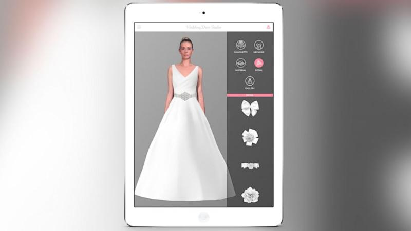 New Wedding Dress App Uses 'Augmented Reality Technology' for Virtual Try-Ons