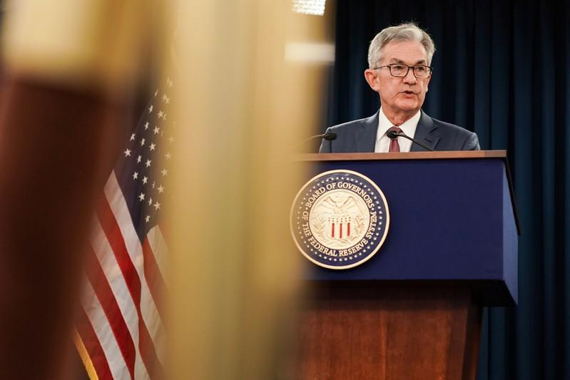 Jerome Powell holds news conference after Federal Open Market Committee meeting
