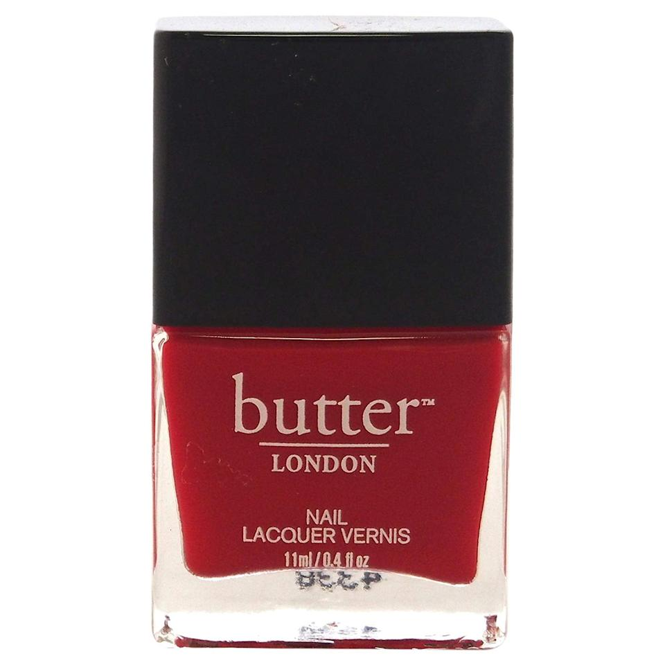 """<p><a href=""""https://www.popsugar.com/buy/Butter-London-Come-Bed-Red-462730?p_name=Butter%20London%20Come%20to%20Bed%20Red&retailer=amazon.com&pid=462730&price=15&evar1=bella%3Aus&evar9=46794270&evar98=https%3A%2F%2Fwww.popsugar.com%2Fbeauty%2Fphoto-gallery%2F46794270%2Fimage%2F46794331%2FButter-London-Come-to-Bed-Red&list1=beauty%20products%2Cnail%20polish%2Cbeauty%20trends&prop13=api&pdata=1"""" rel=""""nofollow"""" data-shoppable-link=""""1"""" target=""""_blank"""" class=""""ga-track"""" data-ga-category=""""Related"""" data-ga-label=""""https://www.amazon.com/butter-LONDON-Nail-Lacquer-Shades/dp/B003BEAW6O/ref=sr_1_17?keywords=red%2Bnail%2Bpolish&amp;qid=1561403734&amp;s=gateway&amp;sr=8-17&amp;th=1"""" data-ga-action=""""In-Line Links"""">Butter London Come to Bed Red</a> ($15)</p>"""