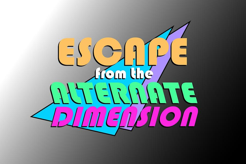 """<p>Since the EW staff couldn't gather in person for a 2020 holiday party, we turned to <a href=""""https://www.virtualescapeglobal.com/about-escape-from-the-alternate-dimension"""" rel=""""nofollow noopener"""" target=""""_blank"""" data-ylk=""""slk:Virtual Escape Global"""" class=""""link rapid-noclick-resp"""">Virtual Escape Global</a>, formed teams, and had an absolute blast solving puzzles and riddles in order to escape our virtual rooms in a certain amount of time. If you're looking for a fun, group activity, try their new '90-themed game — <em>Escape From the Alternate Dimension</em> — which sounds like all that and a bag of chips!</p> <p><strong>$25 per player, <a href=""""https://www.virtualescapeglobal.com/about-escape-from-the-alternate-dimension"""" rel=""""nofollow noopener"""" target=""""_blank"""" data-ylk=""""slk:virtualescapeglobal.com"""" class=""""link rapid-noclick-resp"""">virtualescapeglobal.com</a></strong></p> <p><strong>*Use discount code EW0214 and save $2 per player</strong></p>"""