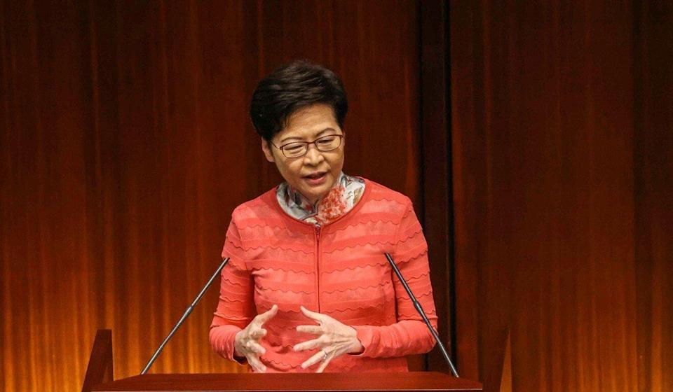 Chief Executive Carrie Lam laid out her vision for the Northern Metropolis in her policy address on Wednesday. Photo: K. Y. Cheng