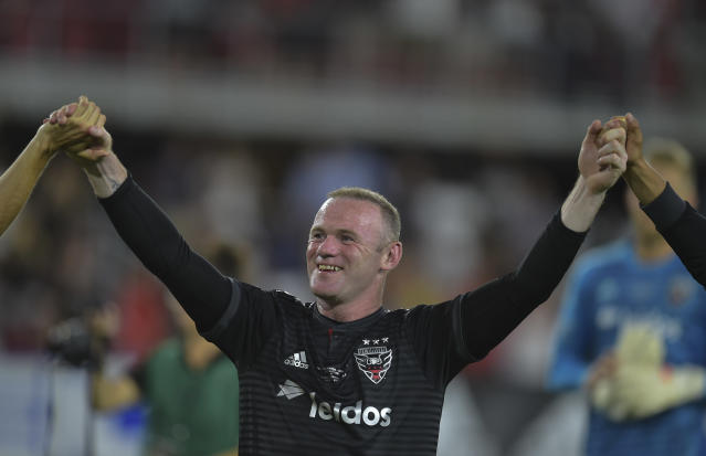 Wayne Rooney has been excellent since coming to D.C. United and MLS. (Getty)