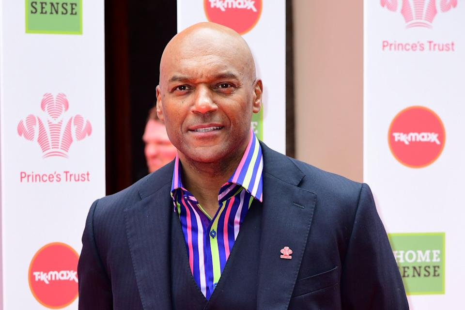 Colin Salmon attending the National Prince's Trust and TK Maxx & Homesense Awards 2019 at the London Palladium (PA)
