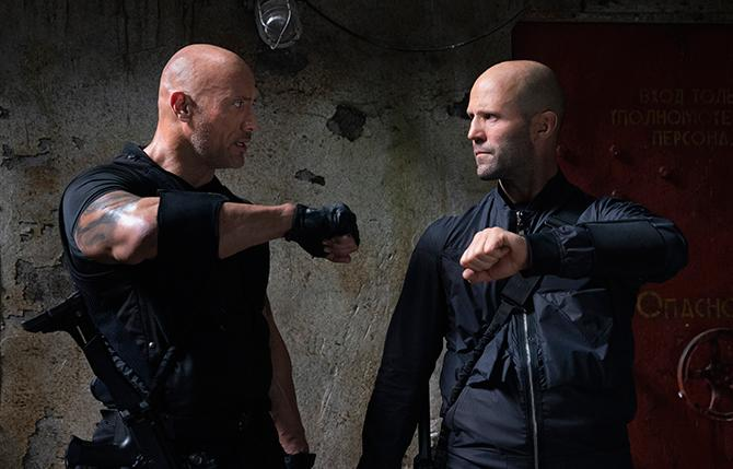 Dwayne Joyhnson y Jason Statham en Fast & Furious: Hobbs & Shaw (Autor: Daniel Smith; © 2019 Universal Pictures. All Rights Reserved.)