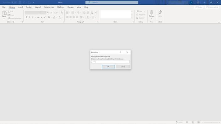 5   How to encrypt a Word document