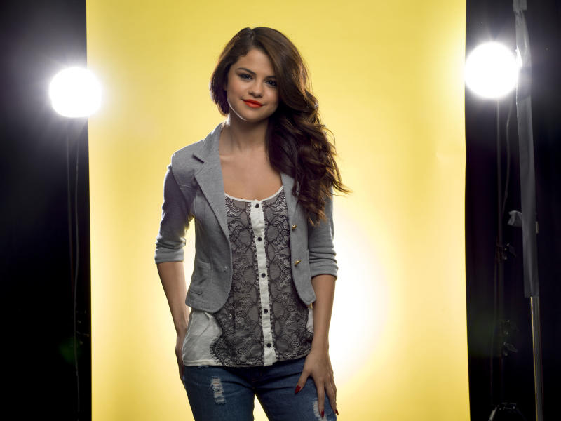 "This July 24, 2013 photo shows American singer and actress Selena Gomez posing for a portrait in New York to promote her new CD ""Stars Dance."" (Photo by Scott Gries/Invision/AP)"
