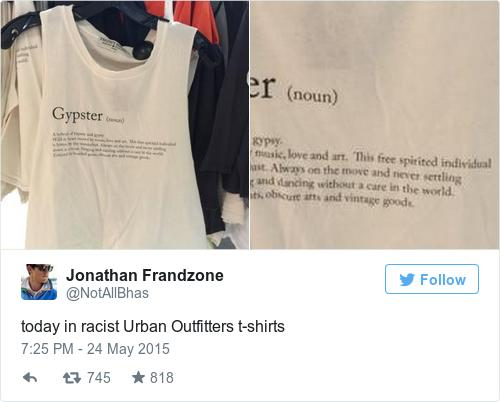 Urban Outfitters Is Under Fire For This Controversial