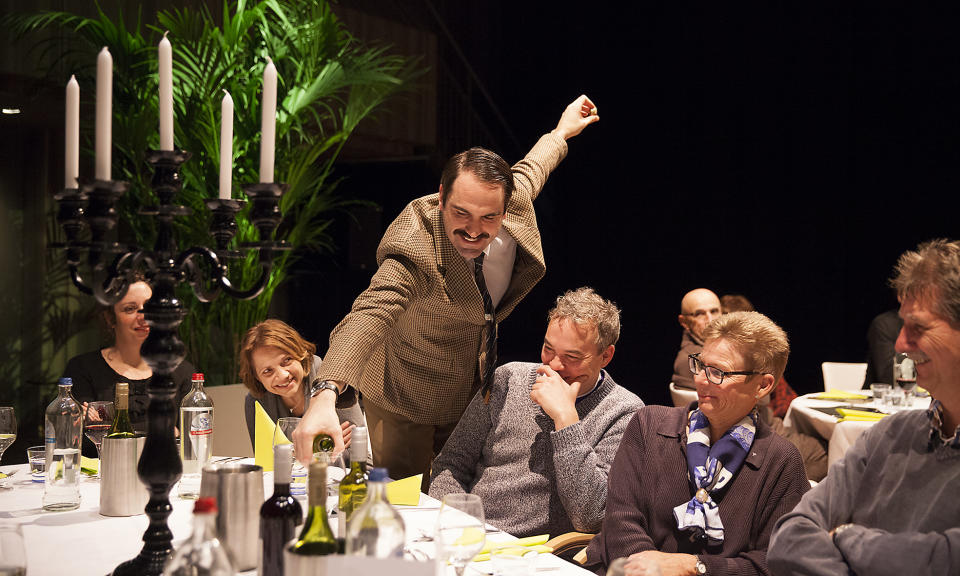 Faulty Towers The Dining Experience is currently running at the Sydney Opera House. (Source: Supplied)