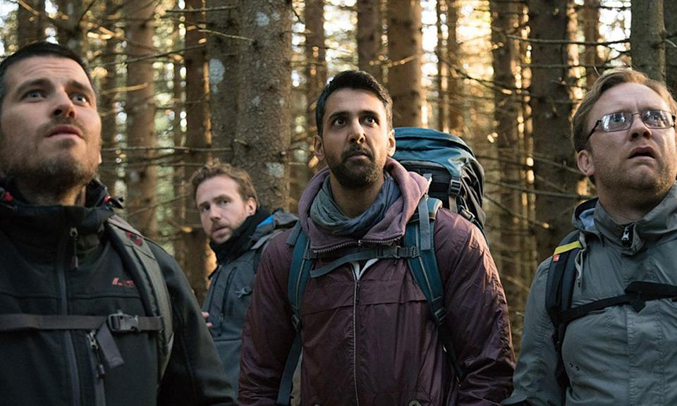 <p>David Bruckner's Brit-horror sees a group of friends travelling to deepest darkest Scandinavia following the death of one of their closest pals. Rafe Spall ('The Life of Pi') and his chums soon find themselves wishing they'd gone to Vegas when things start going bump in the woods. </p>