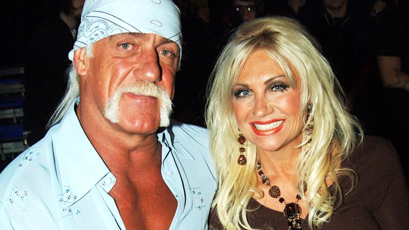Hulk and Linda Hogan, pictured here in Los Angeles in 2005.