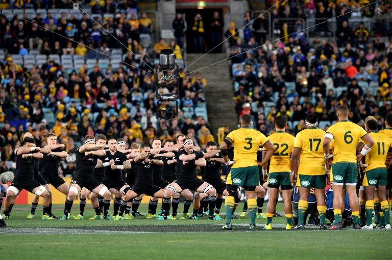 The overwhelming victory means the All Blacks retain the Bledisloe Cup, which they have held since 2003