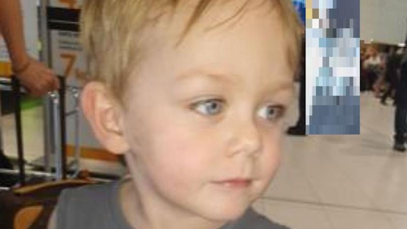 A two-year-old boy (pictured) missing in Queensland, who is believed to be in the Cairns area, has sparked an urgent search.