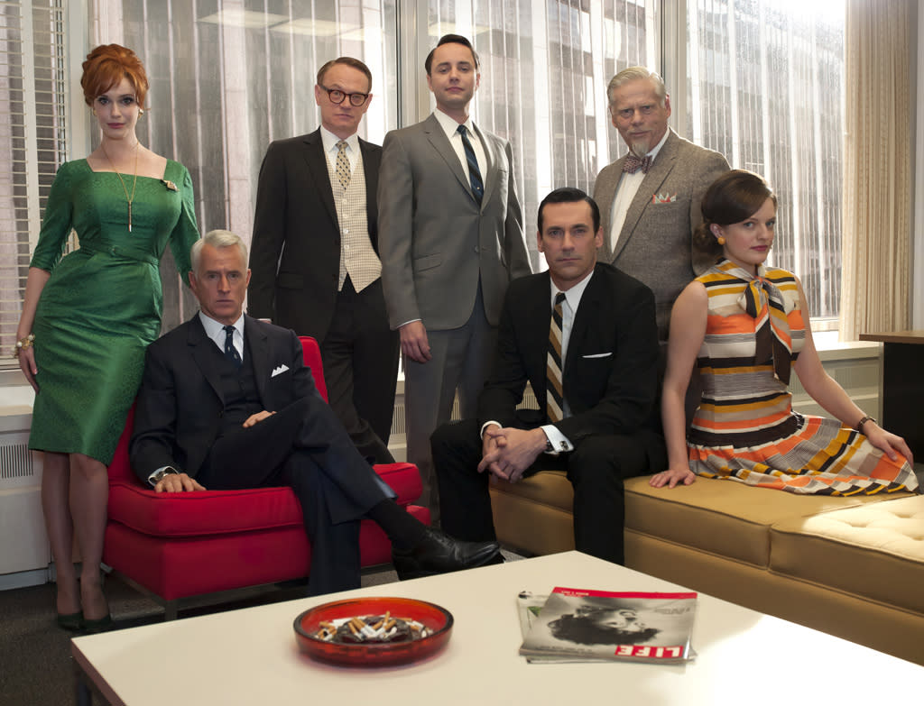 "<span style=""font-weight:bold;"">At awards time, is ""Mad Men"" old news?</span>"