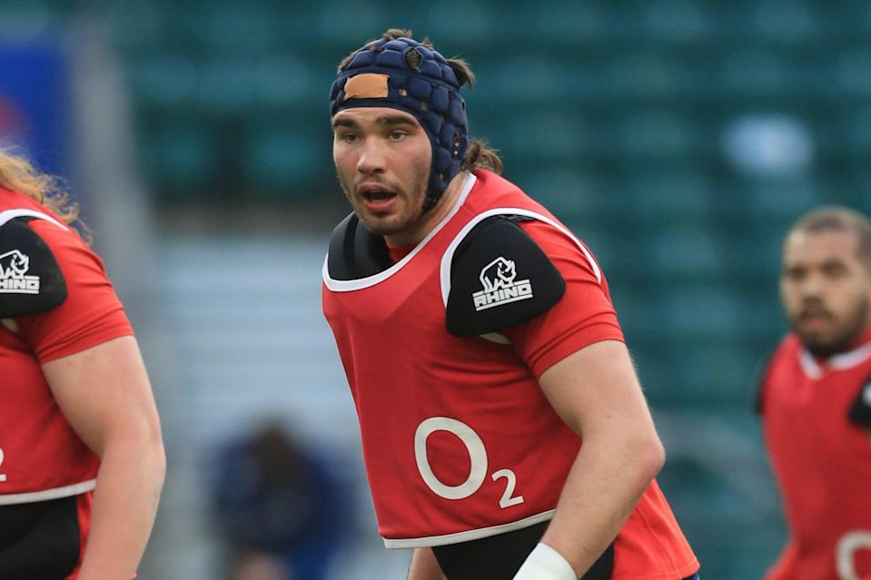 <p>Debutant: George Martin should come off the bench for England in Cardiff</p> (Getty Images)