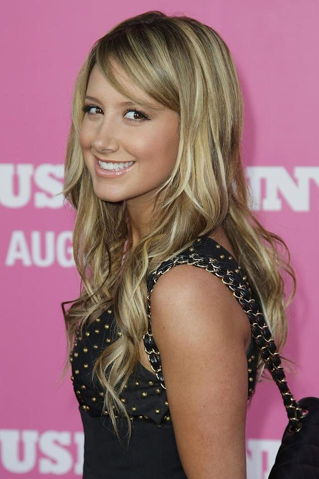 "<a href=""http://movies.yahoo.com/movie/contributor/1804504114"">Ashley Tisdale</a> at the Los Angeles Premiere of <a href=""http://movies.yahoo.com/movie/1809921361/info"">The House Bunny</a> - 08/20/2008"