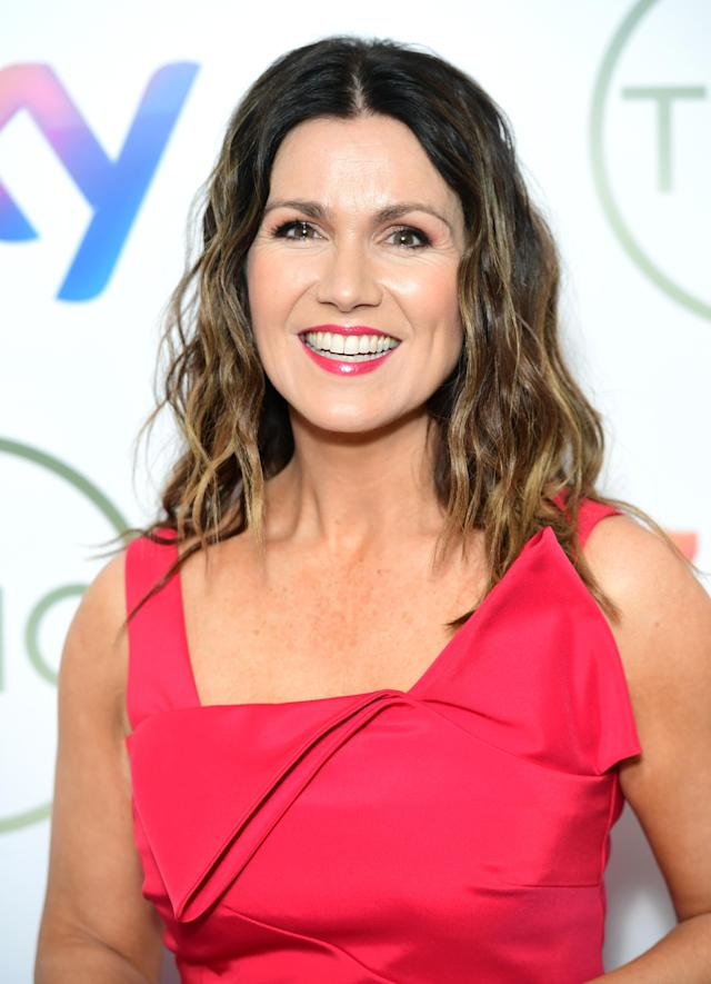 Susanna Reid attending the TRIC Awards 2020 held at the Grosvenor Hotel, London. PA Photo. Picture date: Tuesday March 10, 2020. (Photo by Ian West/PA Images via Getty Images)