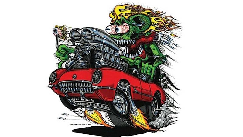 Ed Big Daddy Roth Art To Be Exhibited At Corvette Museum
