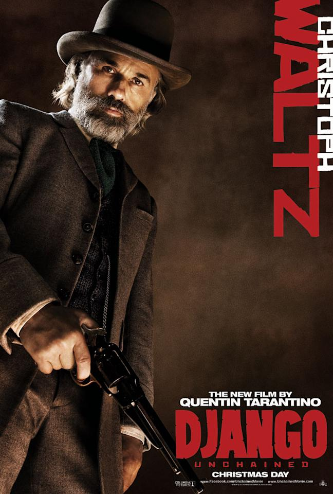 "Christoph Waltz in The Weinstein Company's ""Django Unchained"" - 2012"