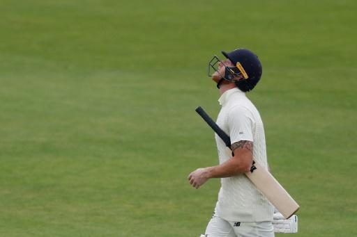 England captain Ben Stokes was dismissed for 43 in the first Test against the West Indies
