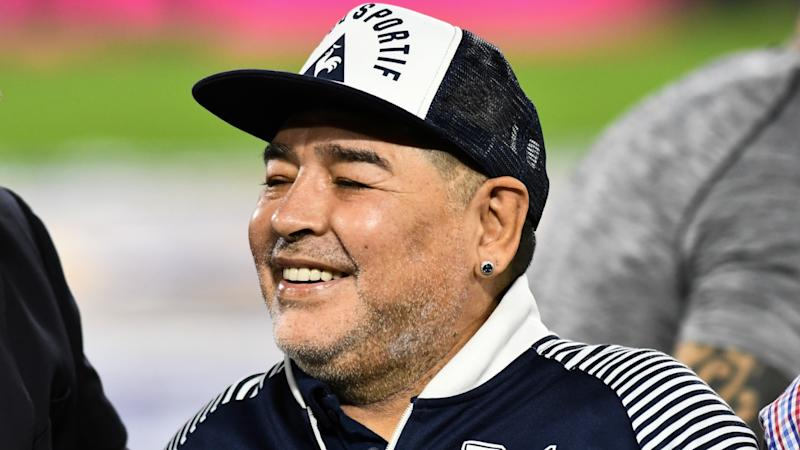 'Let's go for more!' - Maradona signs new deal at Gimnasia
