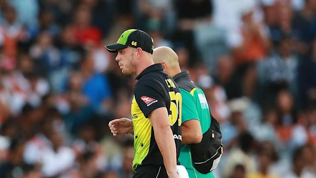 Scans have shown Chris Lynn damaged the ligaments in his shoulder during Australia's tri-series final win over New Zealand.