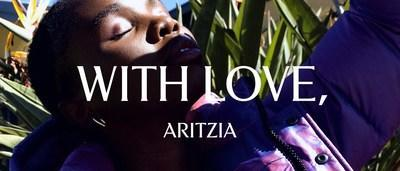 With Love, Aritzia is rooted in celebrating fearless individuality. Using a love letter as a vessel for inspiration, Aritzia is shining the spotlight on inspiring people who articulate and embody the diverse Aritzia community. (CNW Group/Aritzia Inc.)
