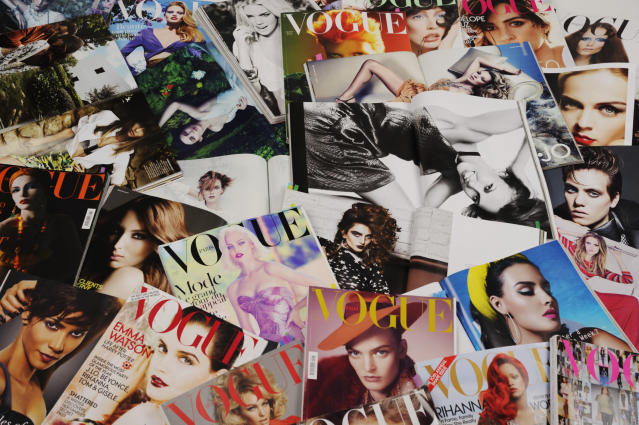 Vogue has replaced the models and celebrities that normally grace its cover with frontline workers. (Getty Images)