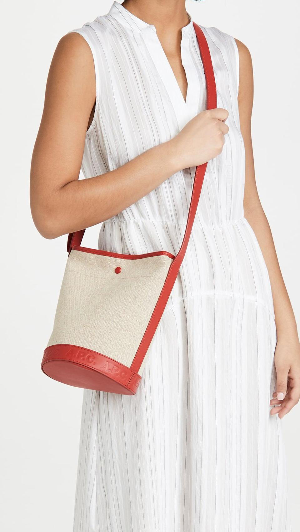 <p>You'll love rocking the <span>A.P.C. Sac Helene</span> ($340) all summer long.</p>