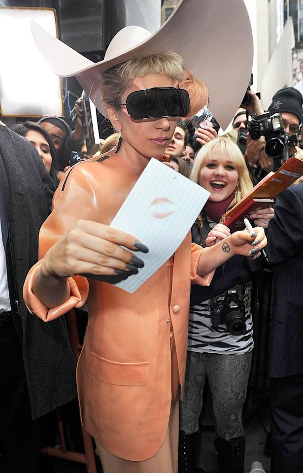 "One celeb who's always good for an attention-grabbing sound byte is Lady Gaga, a performer who has created such an interesting public persona that the paparazzi never seem to dig up much dirt on her personal life at all. In a recent interview with <i>Vogue</i>, Gaga said: ""Speaking purely from a musical standpoint, I think I am a great performer. I am a talented entertainer. I consider myself to have one of the greatest voices in the industry. I consider myself to be one of the greatest songwriters. I wouldn't say that I am one of the greatest dancers, but I am really quite good at what I do … I think it's OK to be confident in yourself."" Arnaldo Magnani/<a href=""http://www.gettyimages.com/"" target=""new"">GettyImages.com</a> - February 17, 2011"