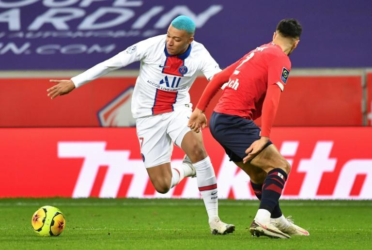 Kylian Mbappe couldn't stop PSG drawing 0-0 with Lille in a forgettable match