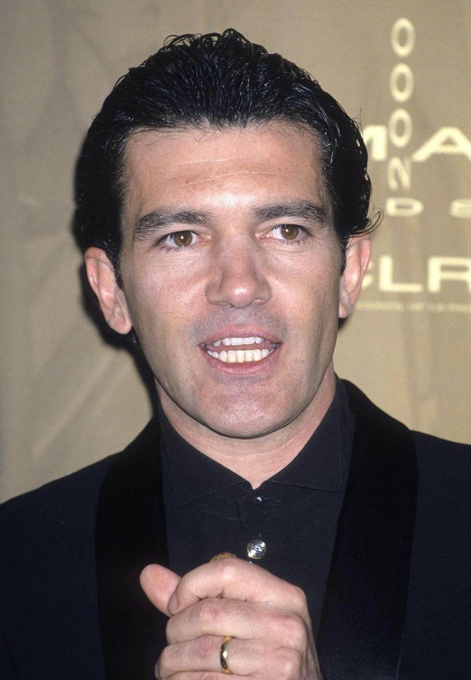 <p>Born in Málaga, Spain, the international star rose to prominence playing the title role in 1998's <em>The Mask of Zorro</em>. The early 2000s saw Banderas lend his voice to the animated <em>Shrek</em> series, as well as reprise his star-making role in <em>The Legend of Zorro</em> in 2005.</p>