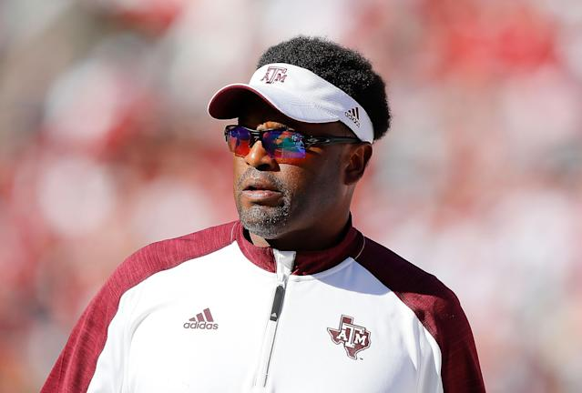 Kevin Sumlin said he was proud of school leadership. (Getty)