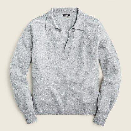 """<p><strong>J.Crew</strong></p><p>jcrew.com</p><p><strong>$168.00</strong></p><p><a href=""""https://go.redirectingat.com?id=74968X1596630&url=https%3A%2F%2Fwww.jcrew.com%2Fp%2FAZ241&sref=https%3A%2F%2Fwww.townandcountrymag.com%2Fstyle%2Ffashion-trends%2Fg22673885%2Fcute-fall-sweaters%2F"""" rel=""""nofollow noopener"""" target=""""_blank"""" data-ylk=""""slk:Shop Now"""" class=""""link rapid-noclick-resp"""">Shop Now</a></p><p>The <a href=""""https://www.townandcountrymag.com/style/g35732619/best-half-zip-pullover-sweaters/"""" rel=""""nofollow noopener"""" target=""""_blank"""" data-ylk=""""slk:notch-collar half-zip"""" class=""""link rapid-noclick-resp"""">notch-collar half-zip </a>became immensely popular over the pandemic and this trend seems to have no end in sight. The ease of the relaxed collar with the slight polish of prep is unmatchable. </p>"""
