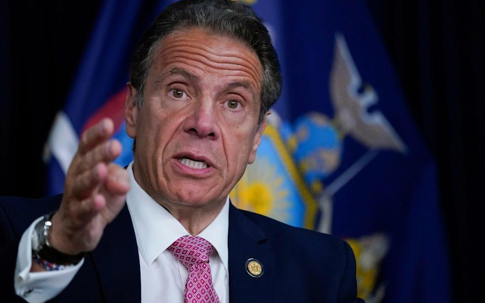 Andrew Cuomo resigned this year as New York governor following a series of harassment allegations - Pool, AP/ Pool, AP