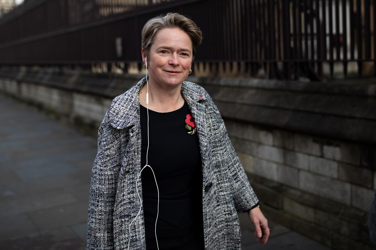 Baroness Dido Harding, Executive Chair of NHS Test and Trace, in Westminster, London, on her way to give evidence before the House of Commons Health and Social Care Committee and Science and Technology Committee.