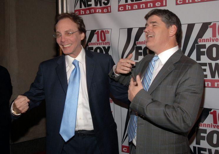 Alan Colmes and Sean Hannity. (Photo: Duffy-Marie Arnoult/WireImage)
