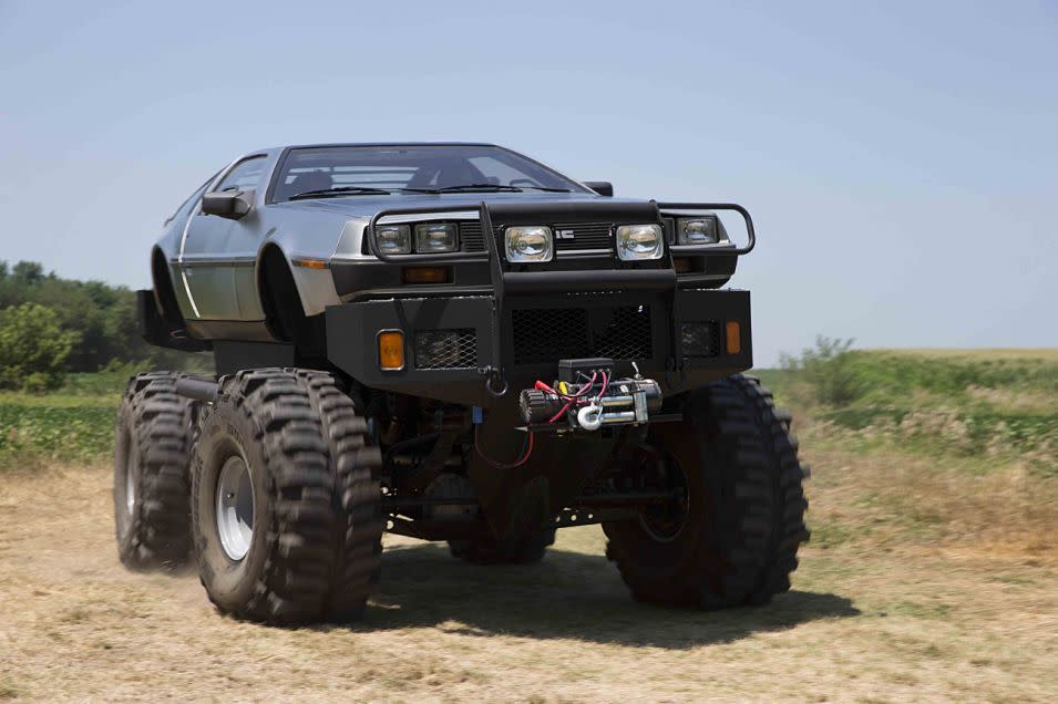Meet The Delorean Collector With A Monster Truck Limo And