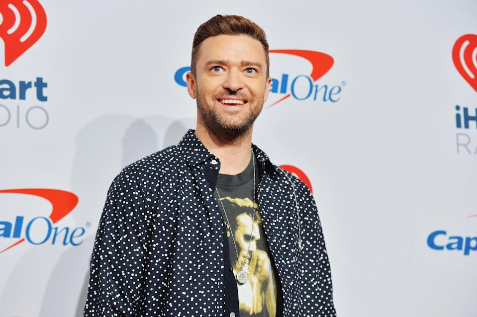 LAS VEGAS, NV - SEPTEMBER 22: (EDITORIAL USE ONLY; NO COMMERCIAL USE)  Justin Timberlake attends the iHeartRadio Music Festival at T-Mobile Arena on September 22, 2018 in Las Vegas, Nevada.  (Photo by Sam Wasson/Getty Images for iHeartMedia)