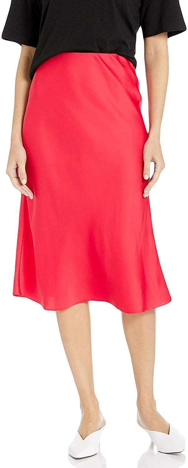 """<p>This classic <a href=""""https://www.popsugar.com/buy/Drop-Maya-Silky-Slip-Skirt-523523?p_name=The%20Drop%20Maya%20Silky%20Slip%20Skirt&retailer=amazon.com&pid=523523&price=45&evar1=fab%3Aus&evar9=46971466&evar98=https%3A%2F%2Fwww.popsugar.com%2Ffashion%2Fphoto-gallery%2F46971466%2Fimage%2F46971788%2FDrop-Maya-Silky-Slip-Skirt&list1=shopping%2Camazon%2Choliday%2Ceditors%20pick%2Cwinter%20fashion%2Choliday%20fashion%2Cfashion%20shopping&prop13=mobile&pdata=1"""" rel=""""nofollow noopener"""" class=""""link rapid-noclick-resp"""" target=""""_blank"""" data-ylk=""""slk:The Drop Maya Silky Slip Skirt"""">The Drop Maya Silky Slip Skirt</a> ($45) comes in tons of colors. I'll wear mine with a graphic tee or chunky sweater.</p>"""