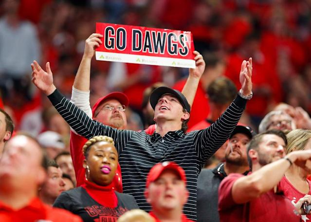 Georgia fans have been waiting since 1980 for a national championship. (Getty)