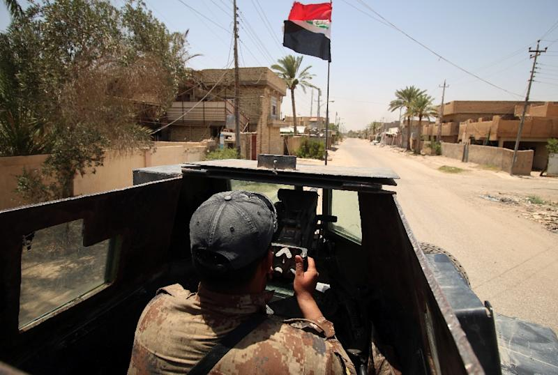 Iraqi forces recaptured Fallujah in June 2016 (AFP Photo/Haider Mohammed Ali)