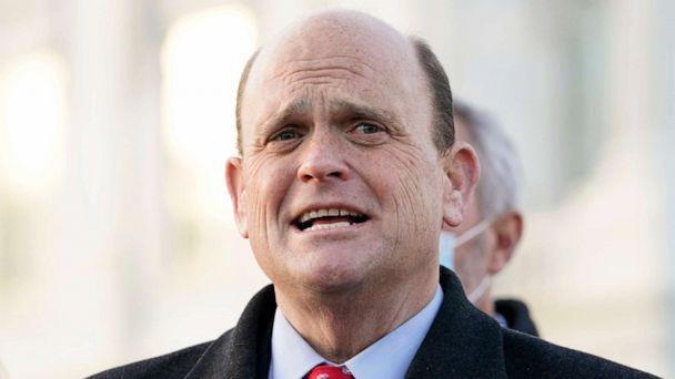PHOTO: FILE - Rep. Tom Reed, R-N.Y., speaks to the media on Capitol Hill in Washington in this Monday, Dec. 21, 2020, file photo. (Jacquelyn Martin/AP)
