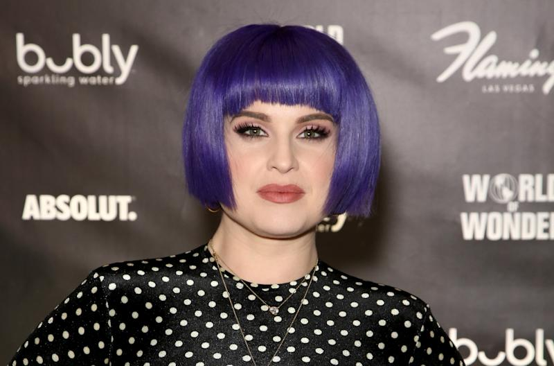 Kelly Osbourne, pictured in January 2020, underwent gastric sleeve surgery two years ago. (Getty Images)