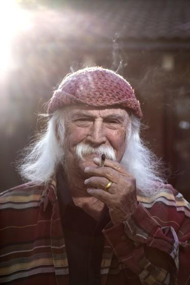Santa Ynez, CA, Thursday, February 25, 2021 - David Crosby at home. (Robert Gauthier/Los Angeles Times)