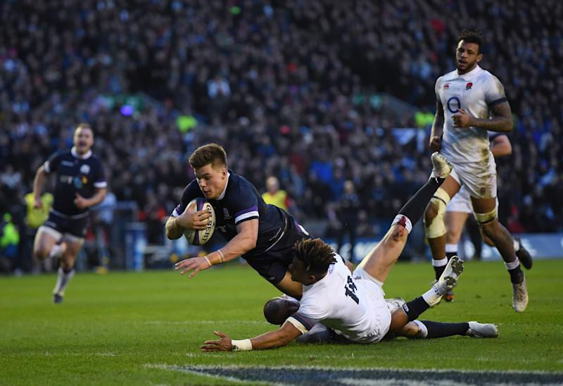 Jones fronts up after Scotland smash England