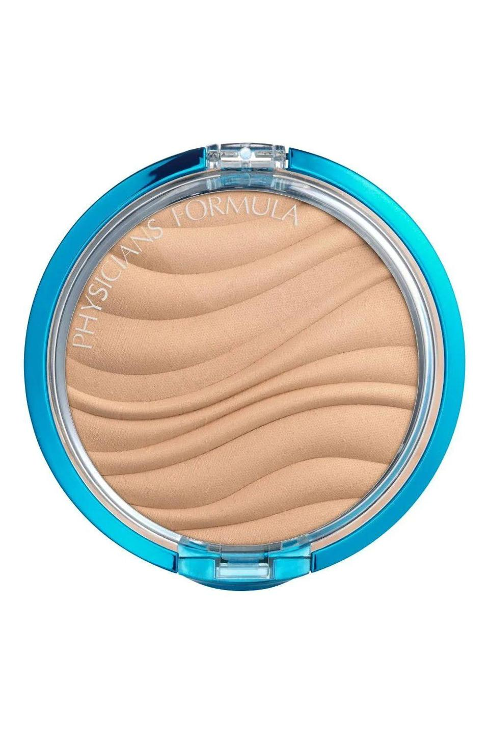 """<p><strong>Physicians Formula</strong></p><p>ulta.com</p><p><strong>$10.49</strong></p><p><a href=""""https://go.redirectingat.com?id=74968X1596630&url=https%3A%2F%2Fwww.ulta.com%2Fmineral-wear-talc-free-mineral-airbrushing-pressed-powder-spf-30%3FproductId%3DxlsImpprod4090139&sref=https%3A%2F%2Fwww.cosmopolitan.com%2Fstyle-beauty%2Fbeauty%2Fg32729898%2Fbest-drugstore-setting-powder%2F"""" rel=""""nofollow noopener"""" target=""""_blank"""" data-ylk=""""slk:Shop Now"""" class=""""link rapid-noclick-resp"""">Shop Now</a></p><p>Even though wearing makeup with SPF isn't enough for protection—you should be layering on <a href=""""https://www.cosmopolitan.com/style-beauty/beauty/advice/g3973/best-new-sunscreens/"""" rel=""""nofollow noopener"""" target=""""_blank"""" data-ylk=""""slk:sunscreen"""" class=""""link rapid-noclick-resp"""">sunscreen</a> underneath your makeup, too—it's great to have on hand for touch-ups throughout the day. This drugstore setting powder has SPF 30, <strong>providing a little extra protection during the day,</strong> while also keeping your concealer from coming off your face.<br></p>"""