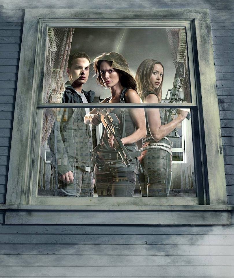 """<a href=""/terminator-the-sarah-connor-chronicles/show/39221"">Terminator: The Sarah Connor Chronicles</a>"" opened midseason with a shortened run of nine episodes, January through March 2008. It was the highest-rated new scripted series of the 2007-08 television season and was renewed for a second season. Fox moved the show to Friday midway through its second and final season."