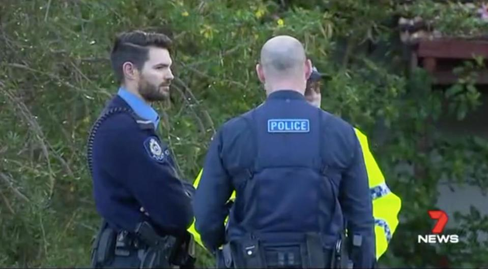 The alleged attacker told police he was the woman's carer, but did not know her name. Source: 7 News
